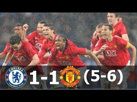 Манчестер Юнайтед vs Chelsea 1-1 пен (6- 5) Лига Чемпионов Финал 2008 HD 60 FPS Full H
