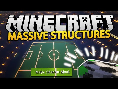 Minecraft MASSIVE STRUCTURES MOD