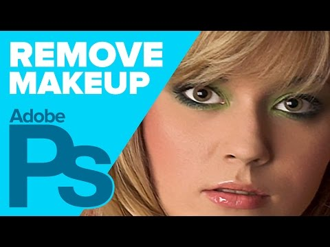 Photoshop: How to Remove Makeup!