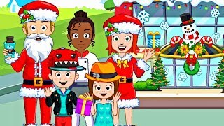 My Town Shopping Mall 🏪 Christmas Time 🎄 Game App for Kids