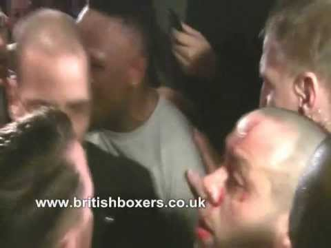 NEW! Chisora vs Haye Presser Brawl footage Munich Feb 2012