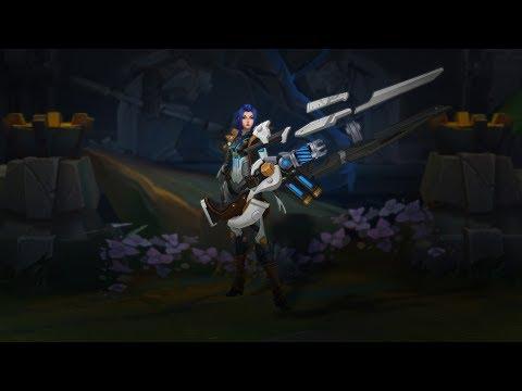 Zaman Ondan Sorulur   Pulsefire Caitlyn Kostümü - League of Legends