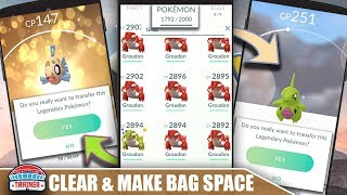 HOW TO MANAGE YOUR POKEMON STORAGE! TOP 5 TIPS TO CLEAN OUT YOUR POKÉMON STORAGE | Pokémon Go