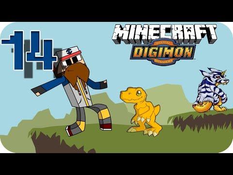 Digimon en Minecraft Episodio 14   La Vuelta