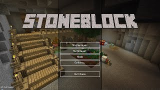 StoneBlock - SQUEEZING WATER out of TREES???  - Ep 4 - Minecraft Modpack