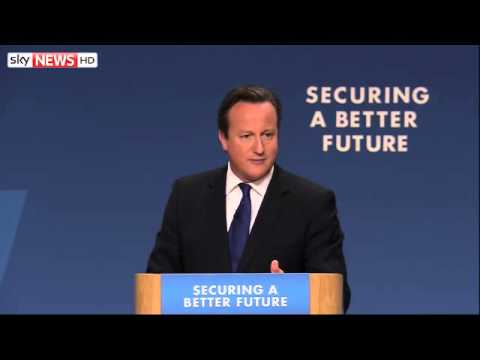 Highlights David Cameron's Conservative Party Conference Speech
