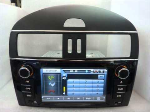 NISSAN TIIDA RADIO DVD GPS Navigation Stereo Headunit Autoradio www.autocardvdgps.com