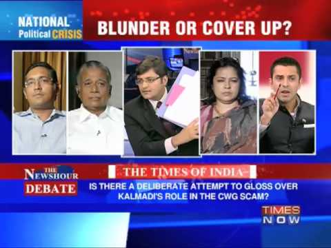 Newshour Debate: CBI's Kalmadi cover-up (Part 3 of 3)
