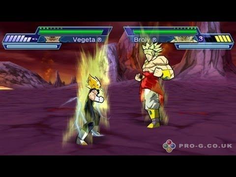 John chan JXD S7800B play game : PSP Dragon Ball Z: Shin Budokai 2 . ドラゴンボールZ 真武道会2