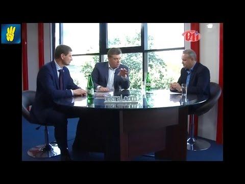"Олег Тягнибок та Олександр Сич в етері телеканалу ""РАІ"""