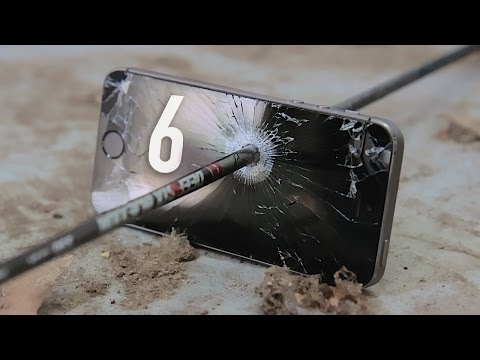 iPhone 6 Sapphire Display Destruction!