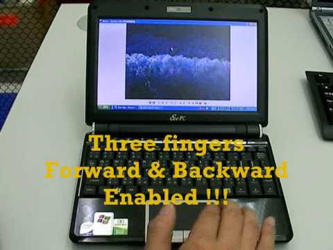How to Enable Multi-Touch PAD in Eee PC 901 & 1000H