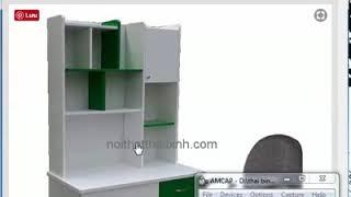 Bộ bàn học cho bé MS 9631 - Giao hàng tận nơi