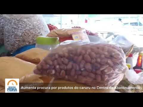 Aumenta procura por produtos do caruru no Centro de Abastecimento