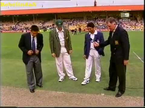 India's tour of Australia 1999/00 - highlights all 3 test matches