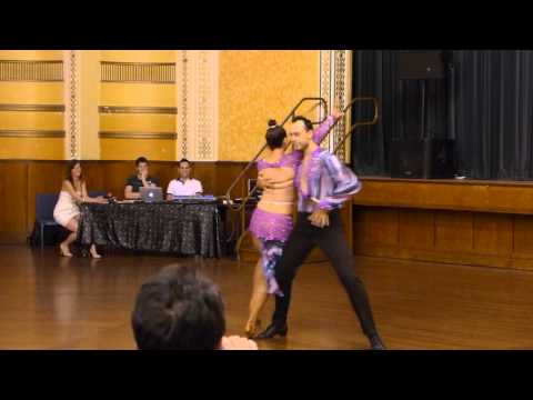 2015 Australian Bachata Championship - Amateur Couple - Nadir and Andrea