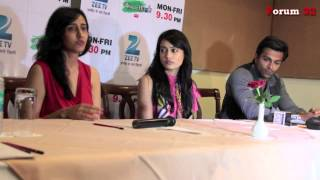 Gul Khan at the Qubool Hai  Press Conference in Ajmer
