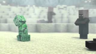 Vietsub Minecraft Thời sự dân làng 4   Element Animation