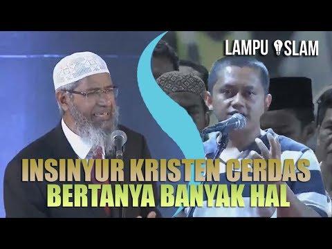 INSINYUR KRISTEN CERDAS BERTANYA BANYAK HAL TENTANG ISLAM | DR. ZAKIR NAIK