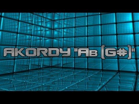 Jak Grać Akordy Na Keyboardzie Akordy Ab (G#)