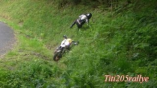 Dark Dog Moto Tour : rallye du beaujolais 2015 (attaque, sorties et chutes)