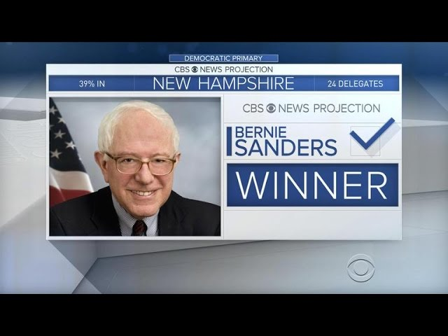 Bernie Sanders takes huge win in New Hampshire