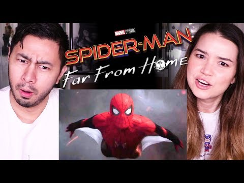 SPIDER-MAN FAR FROM HOME | Teaser Reaction & DISCUSSION!