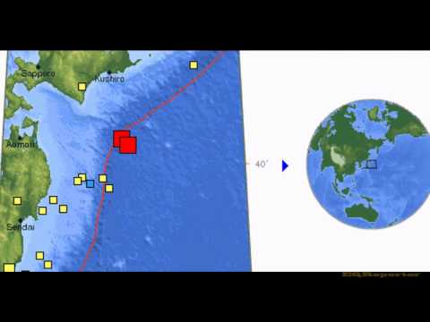 M 6.9 EARTHQUAKE - OFF THE EAST COAST OF HONSHU, JAPAN 3/14/12