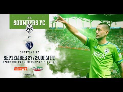 2015 MLS: Sounders FC at Sporting Kansas City - Radio Stream