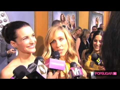 Sex and the City 2 Premiere: Sarah Jessica Parker, Kristin Davis, Kim Cattrall, Cynthia Nixon