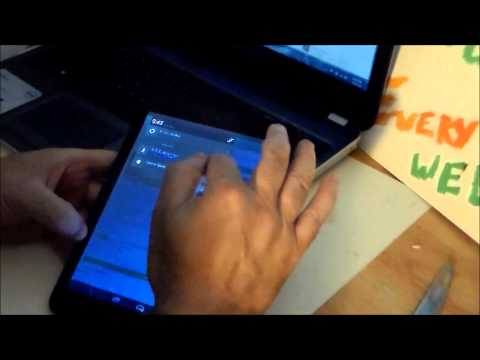 UNBOXING Of New Trio Stealth G4 7. 85 Android  4.4.2 Tablet