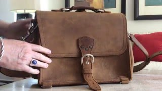 Jim's reviewing the Saddleback Leather Co. Large Satchel, really?