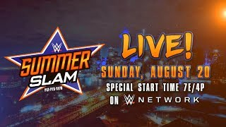 Watch SummerSlam 2017 - Aug. 20 on WWE Network