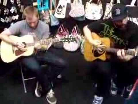 Four Year Strong Acoustic!!!! - Heroes Get Remembered