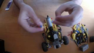 LEGO Speed Build  -  Lego Technic Mini Buggy RC
