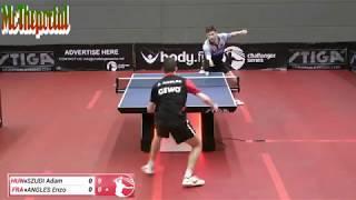 Table Tennis Challenger Series 2018 - Enzo Angles Vs Adam Szudi -