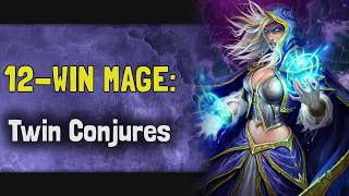 Hearthstone Arena | 12-Win Mage: Twin Conjures (Rise of Shadows #7)