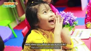 Lời chúc năm mới đáng yêu của con | Tiếng Anh trẻ em Happy Garden