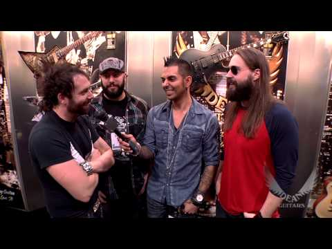 Dean Guitars Artist Eddie Veliz and ddrum Artist Pepe Clark Magaña of KYNG Interview at 2013 NAMM.