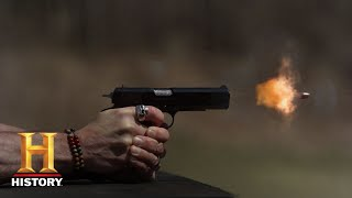 Forged in Fire: The Bulletproof Blade Tests (Season 5, Episode 12) | History