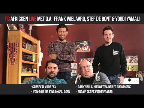 FC AFKICKEN LIVE - Met o.a. Frank Wielaard, Stef de Bont & Yordi Yamali