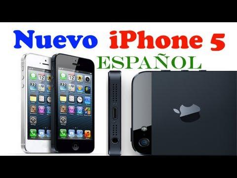 Nuevo iPhone 5 Espa�ol
