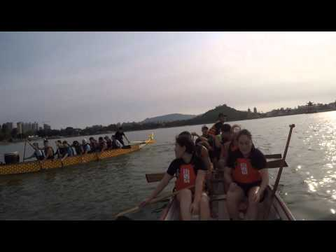 09.04.2016 - Dragon Boat Practice - Lotus Pond Small Boat