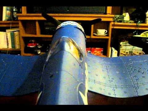 F4U Corsair RC Plane Unboxing