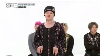 [WEEKLY IDOL] G-DRAGON DANCING TO CHEER UP & PICK ME