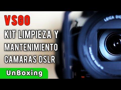 VSGO Kit Mantenimiento y Limpieza  del Sensor y Lentes Cámaras DSLR | UnBoxing Review en Español