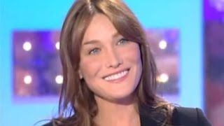 Carla Bruni Sarkozy in vivement dimanche on french TV sept. 2008