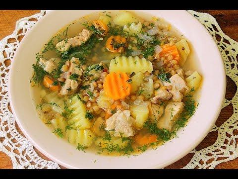 Как приготовить суп из чечевицы - видео