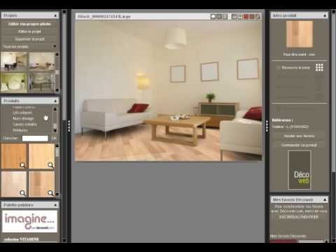 Decoshow simulation partir d 39 une photo num rique youtube for Programme amenagement interieur