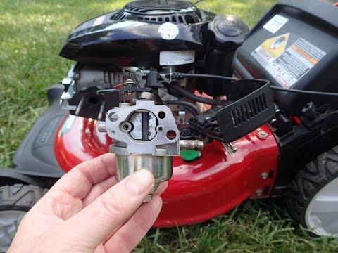 Sears Craftsman Lawn Mower Kohler Courage Engine -  Cleaning Carburetor Part II - July 8. 2016
